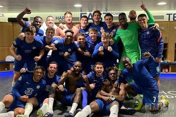 切尔西进军欧冠决赛
