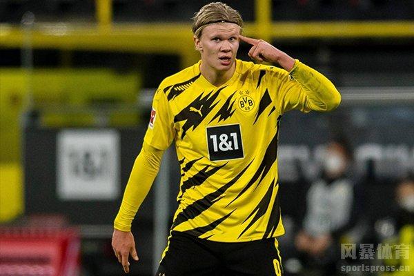 本赛季欧冠进球最多的球员是哈兰德