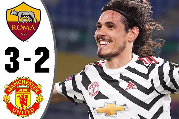 罗马3-2击败曼联!盘点全场精彩集锦!