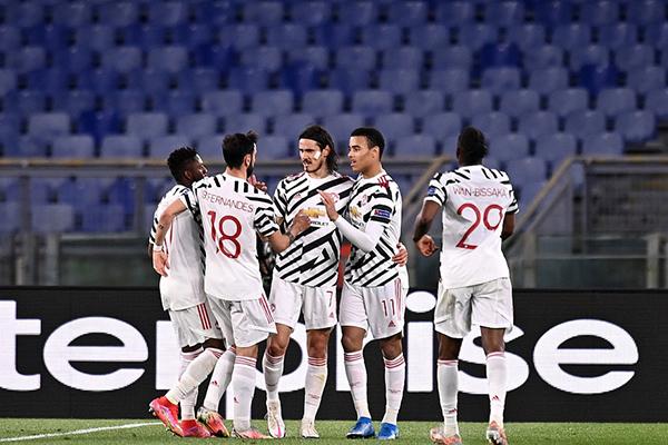 曼联两回合8-5晋级欧联杯总决赛