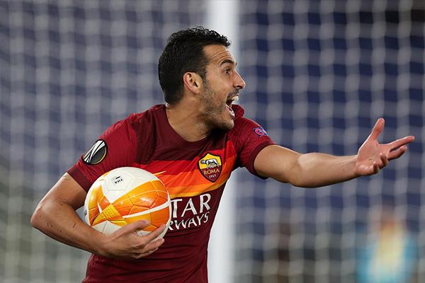罗马在主场以3-2的优势战胜曼联,但两回合下来并未取得晋级
