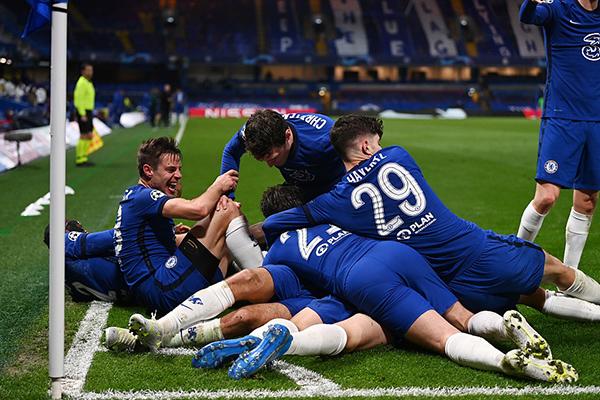 切尔西在本场比赛表现十分出色,在防守方面几乎没有失误