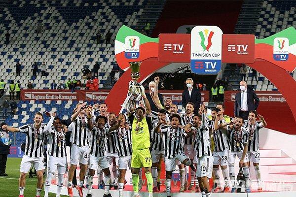 尤文第14次获得意大利杯冠军