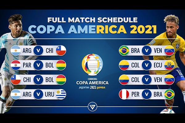 2021美洲杯赛程视频介绍 2021美洲杯即将来临