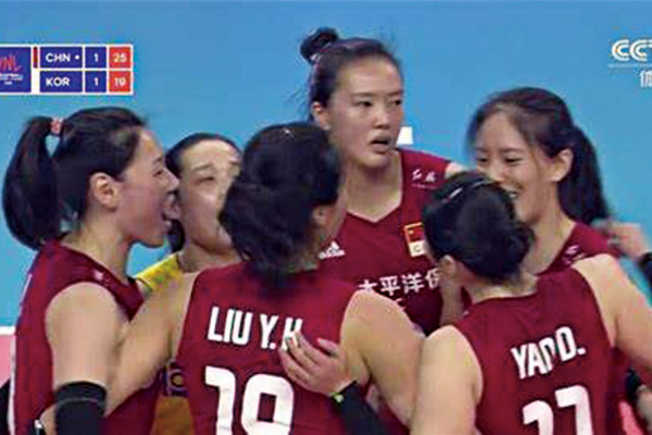 中国女排3-1战胜韩国队!拿下世界女排联赛开门红