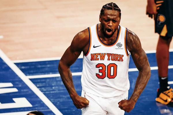 <b>兰德尔成NBA最快进步球员!成尼克斯队史首位获此荣誉球员</b>