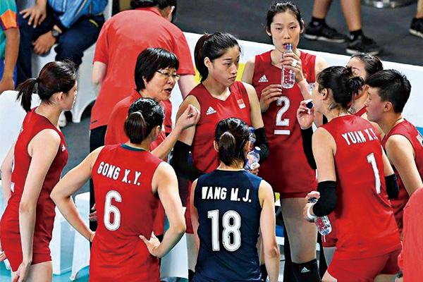 中国女排世界排名跌至第二!排名被美国女排反超