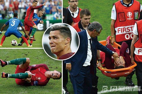 C罗欧洲杯受伤