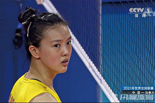 张常宁表情让人心疼!中国女排历史首次负于加拿大队