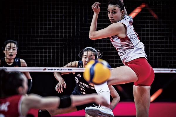 中国女排0-3不敌土耳其!世界女排联赛遭遇两连败
