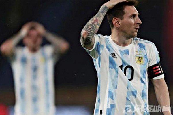 阿根廷被遗憾逼平