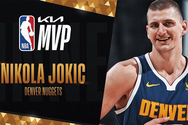 约基奇当选NBA最有价值球员!成NBA历史选秀顺位最低MVP