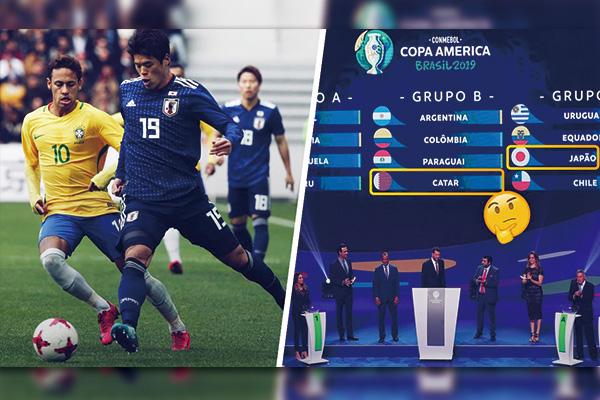 美洲杯为什么有日本和卡塔尔?美洲杯为什么不邀请欧洲球队?