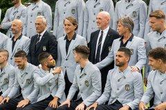 意大利备战2020欧洲杯揭幕战 意大利战前大名单合影