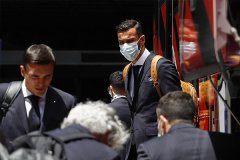 C罗领袖的葡萄牙备战欧洲杯 葡萄牙队员堪称男模队