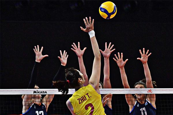 朱婷回来了!率领中国女排三比零击败荷兰队 拿下两连胜
