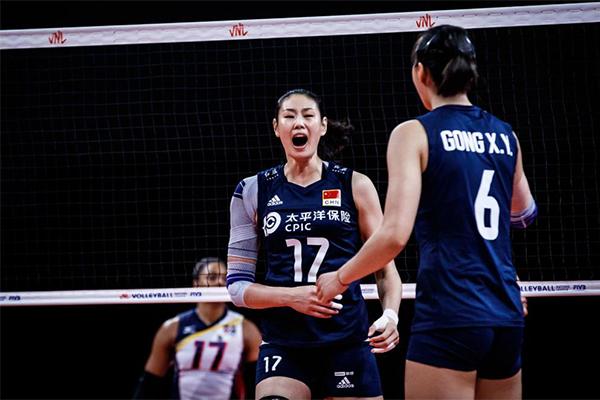 中国女排3-1多米尼加!收获三连胜