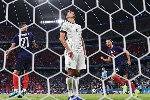 法国1-0击败德国 盘点全场比赛精彩集锦