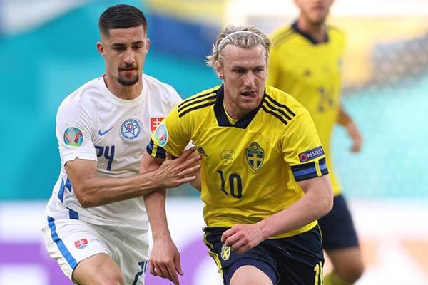 瑞典1-0斯洛伐克 瑞典险胜斯洛伐克