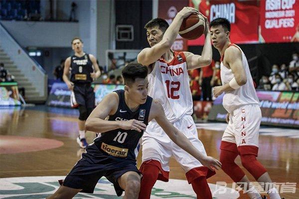 中国男篮击败中国台北