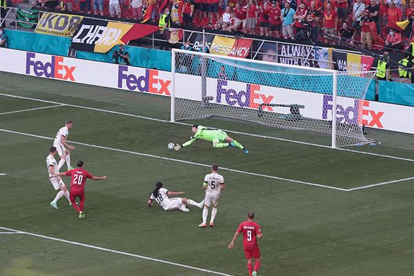 目前的比利时也是提前一轮晋级欧洲杯淘汰赛