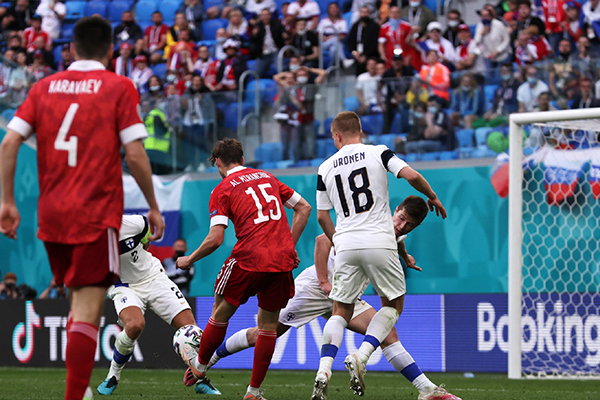 <b>2021欧洲杯小组赛俄罗斯VS丹麦预测分析</b>