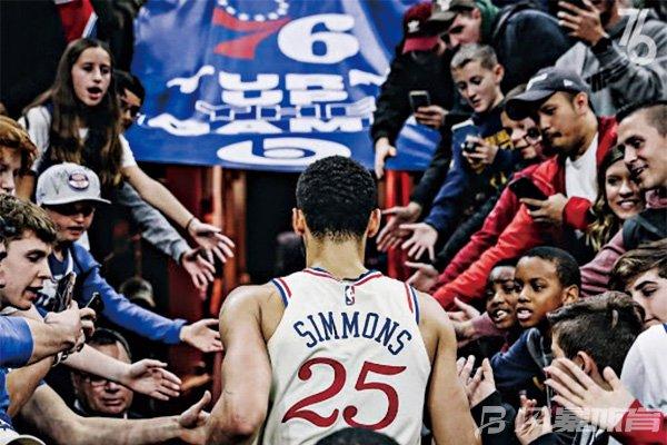 西蒙斯曾被76人给予厚望
