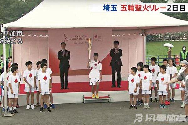 奥运圣火开始在东京都传递!传递活动为期14天