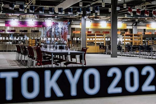 东京奥运村2名工作人员确诊新冠!曾与人共用一桌用餐