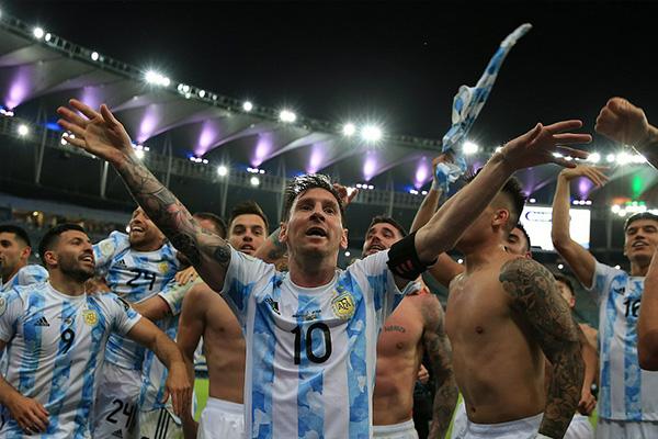 阿根廷1-0巴西 梅西圆梦美洲杯冠军 迪玛利亚一击制胜
