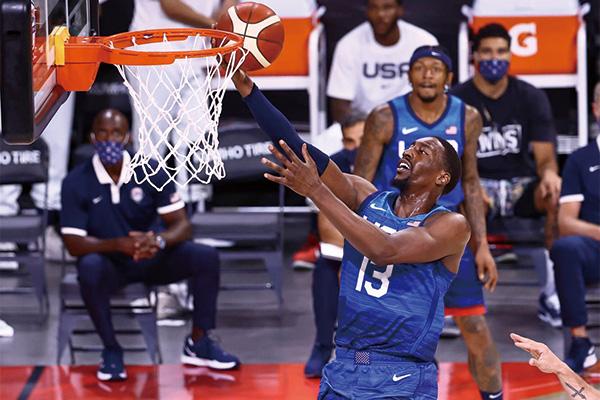 美国男篮VS阿根廷终结连败!美国男篮热身赛大胜阿根廷