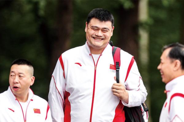 姚明率中国女篮出征东京奥运会!目前剑指前四