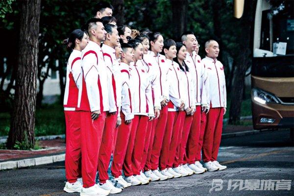 中国女篮集合出征