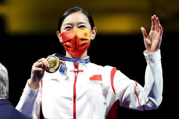 中国暂列奖牌榜第一 美国代表团奋勇直追
