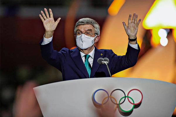巴赫将不隔离直接出席残奥会开幕式!