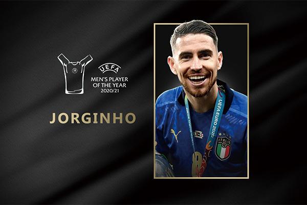 若日尼奥斩获欧足联最佳球员!图赫尔赢得最佳教练称号