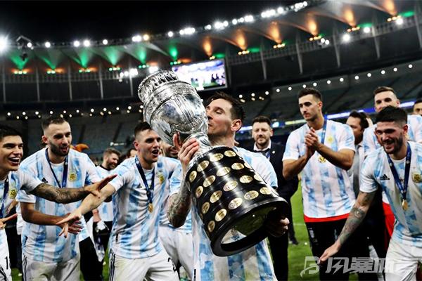 阿根廷队举办夺冠庆典