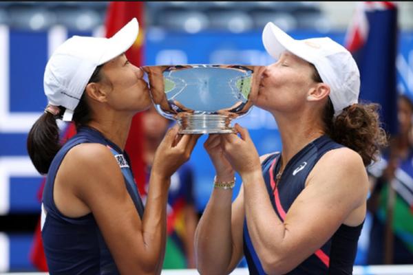 创历史!张帅美网女双夺冠创6纪录