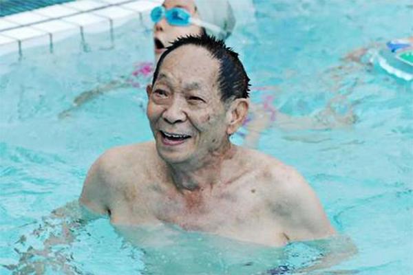 袁隆平差点进入游泳国家队!