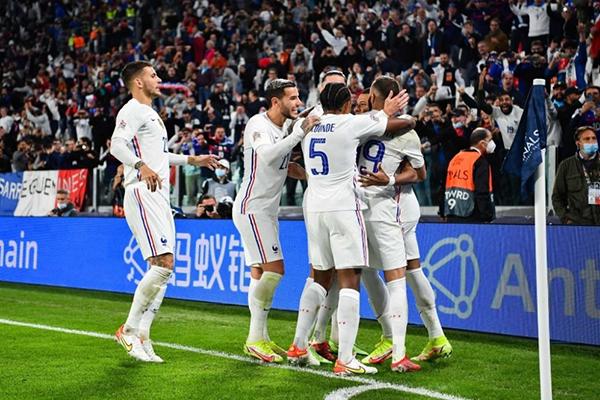 欧国联法国3-2逆转比利时晋级决赛!