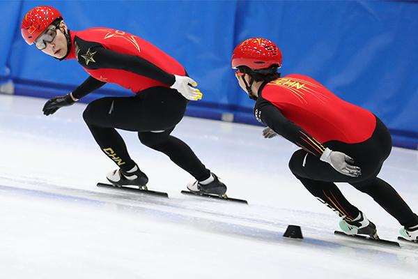 中国队破短道速滑混合接力世界纪录!